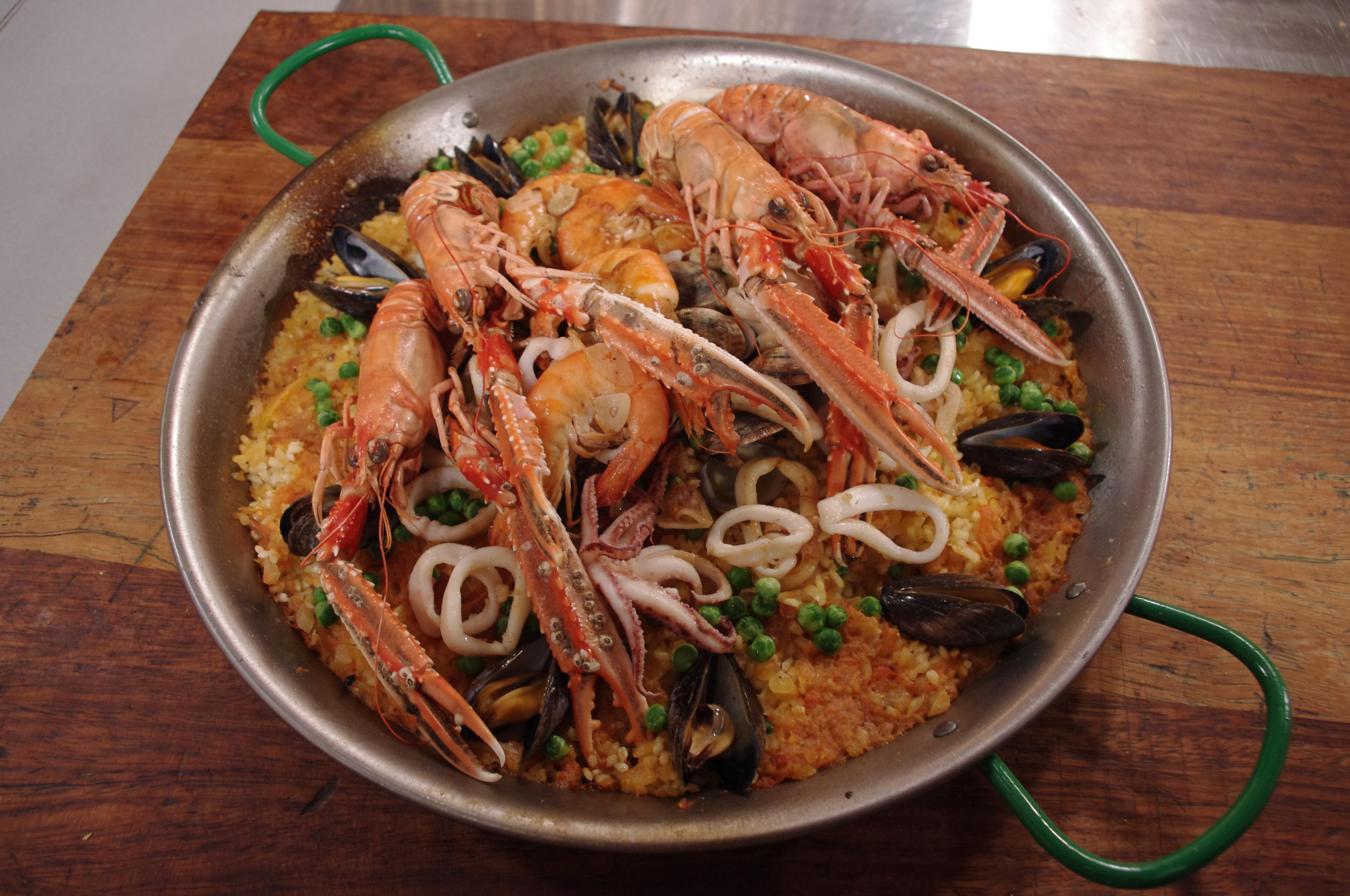 Arroz marinera good food channel arroz marinera forumfinder Image collections